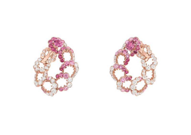 Archi Dior粉紅剛玉鑽石耳環 NT$1,950,000