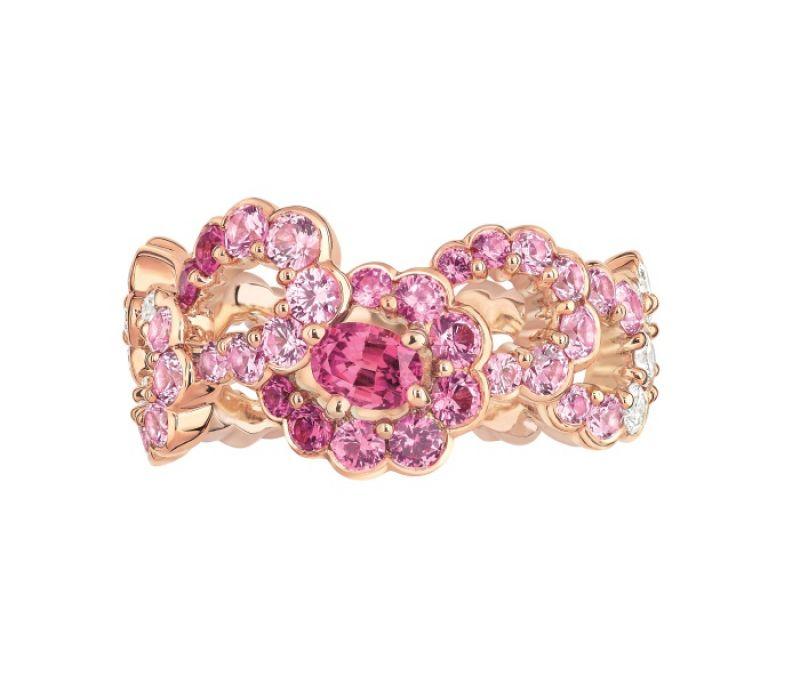 Archi Dior粉紅剛玉鑽石戒指 NT$770,000