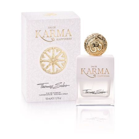 THOMAS SABO EAU DE KARMA HAPPINESS白水晶女性香水/50ml NT$2,880/30ml NT$1,780