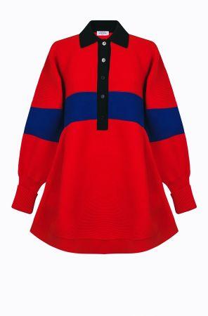 Rykiel For Ever 標語長版針織衫(紅黑藍) @CLUB DESIGNER $32,300