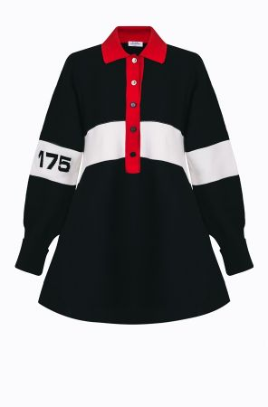 Rykiel For Ever 標語長版針織衫(紅白黑) @CLUB DESIGNER $32,300