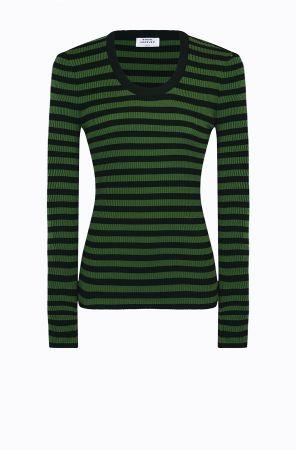 Rykiel For Ever條紋針織衫(綠) @CLUB DESIGNER $16,400