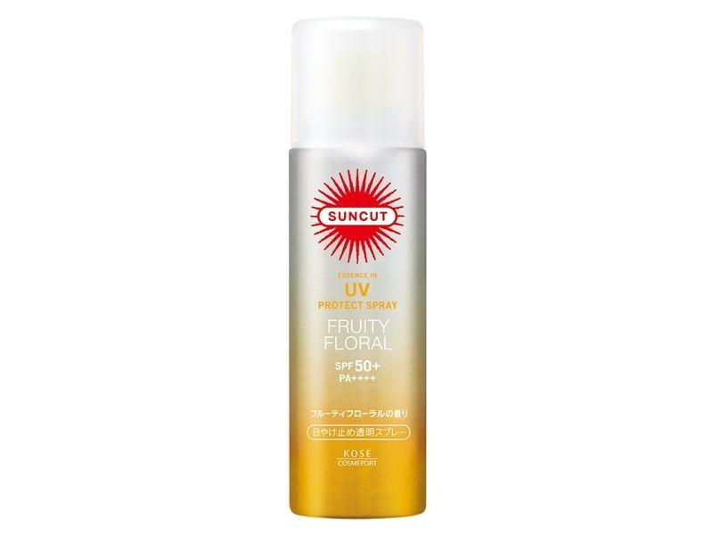 SUNCUT UV曬可皙高效防曬噴霧SPF50+ PA++++(清漾花果) 50g,NT298