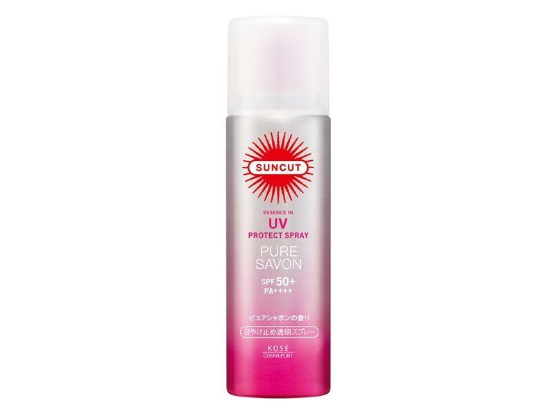 SUNCUT UV曬可皙高效防曬噴霧SPF50+ PA++++(純淨皂香) 50g,NT298