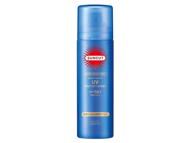 SUNCUT UV曬可皙高效防曬噴霧(極效防水型)50g,NT328