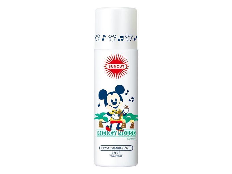 SUNCUT UV曬可皙高效防曬噴霧SPF50+ PA++++(米奇Micky)50g,NT298,全通路(屈臣氏除外)販售