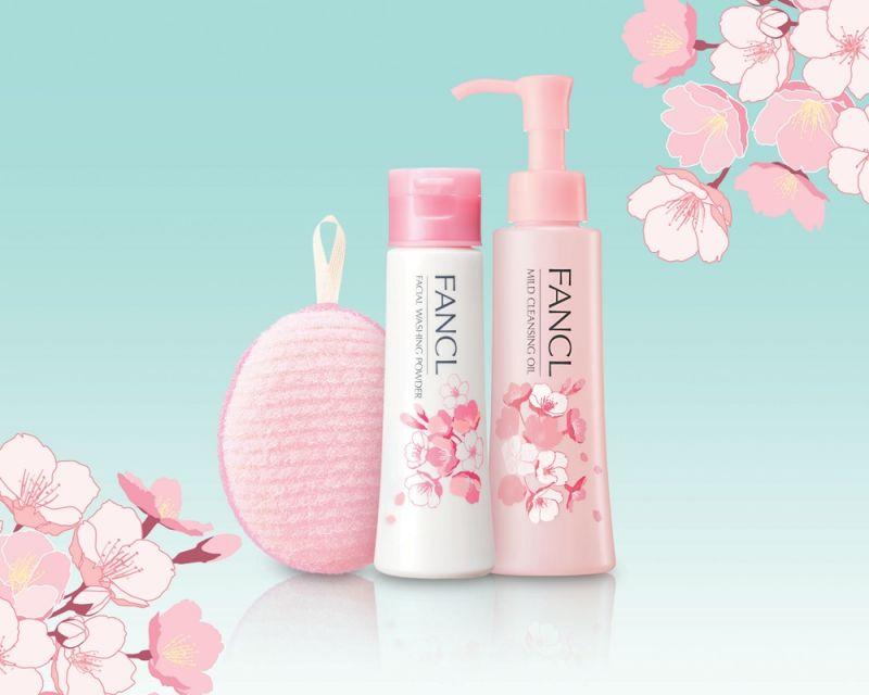 FANCL 2017年春天推出限定櫻花包裝