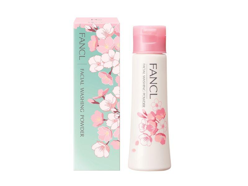 FANCL櫻花限量版淨膚柔滑潔顏粉50g,NT650