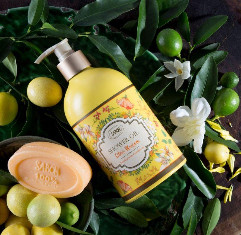 SABON 橙花漫舞沐浴油,500ml /NT$1,280SABON 橙花漫舞香氛皂,70g /NT$350