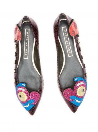 Julie系列俏皮愛心平底鞋 NT$16,900