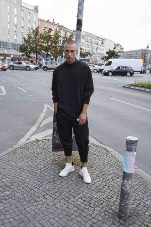 Lenny Mueller穿搭adidas Originals EQT系列