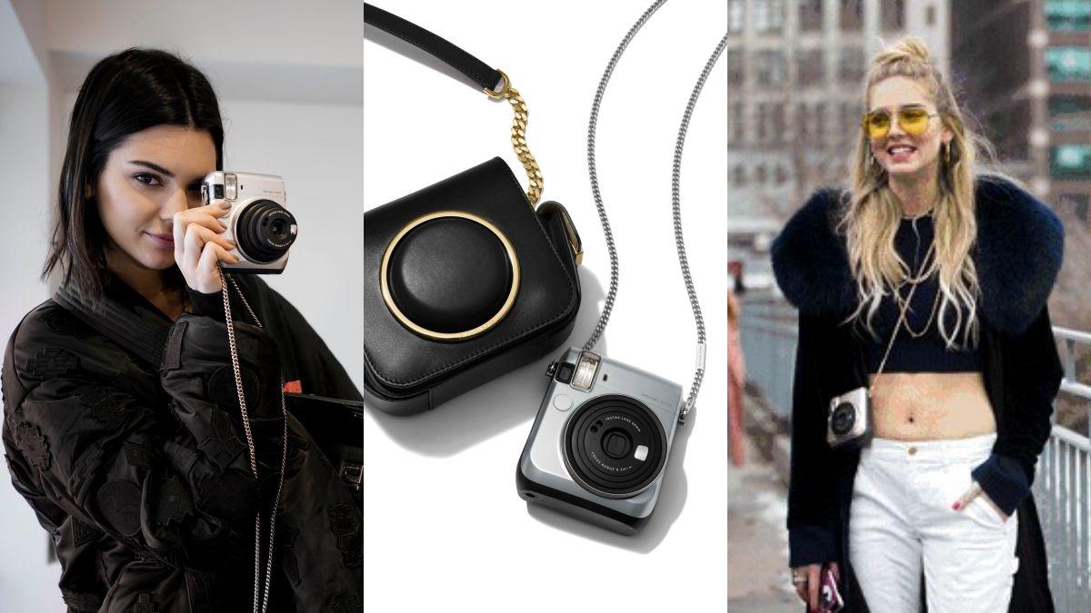 潮模也著迷的時髦新玩具!Michael Kors X FUJIFILM推出第二代聯名銀色拍立得
