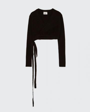 ZARA 芭蕾舞衣式雙排扣開襟衫 NT890