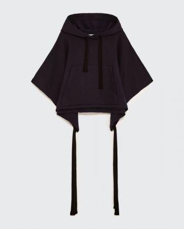ZARA 連帽刺繡運動衫 NT1490