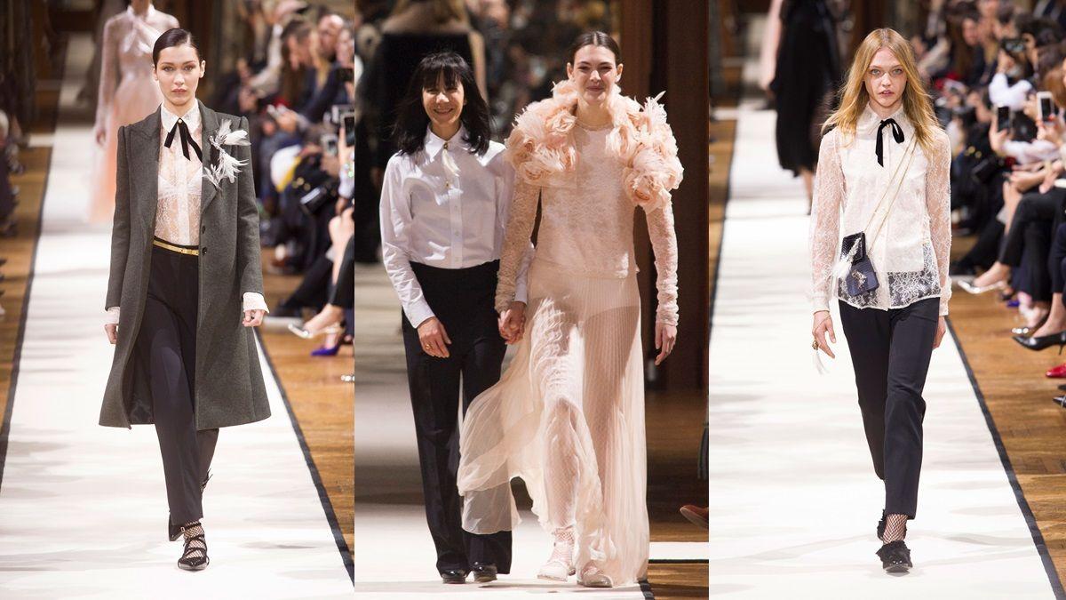 【巴黎時裝週】浪凡設計師 Bouchra Jarrar 在巴黎市政廳製造浪漫。