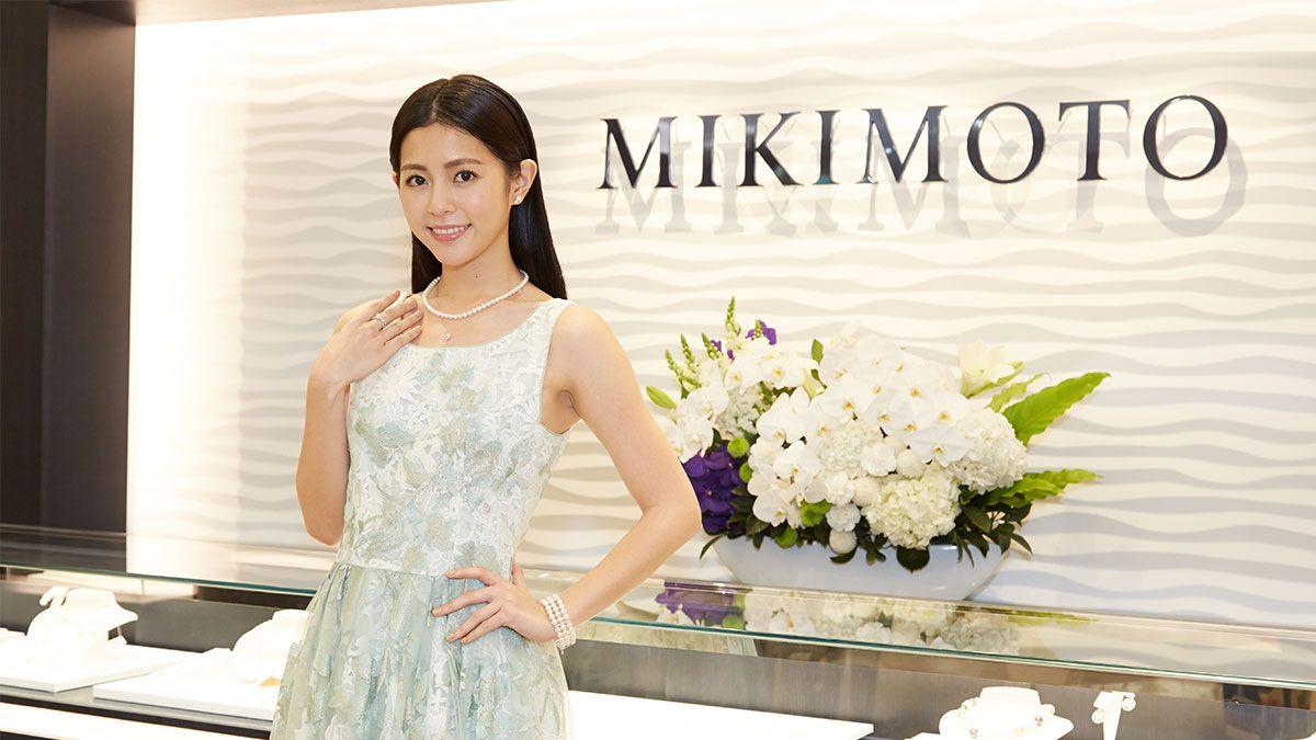 MIKIMOTO台中中港店全新開幕!任容萱的飾品混搭tips大公開