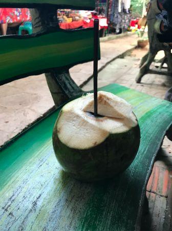 美味的椰子冰值得一試。