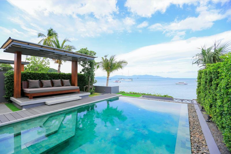 Celes Beachfront Resort Koh Samui 是島上最新的奢華度假飯店。