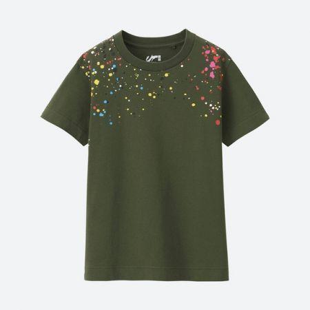UNIQLO 男童AE FUTURA印花T恤(短袖) NT$290
