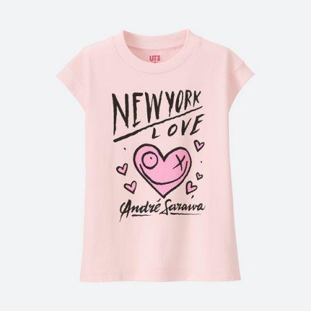 UNIQLO 女童 ANDRE SARAIVA T恤(短袖) NT$290