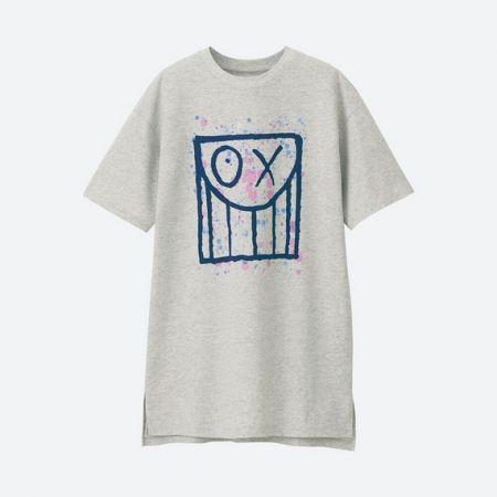 UNIQLO 女裝 ANDRE SARAIVA 長版T恤(短袖) NT$590