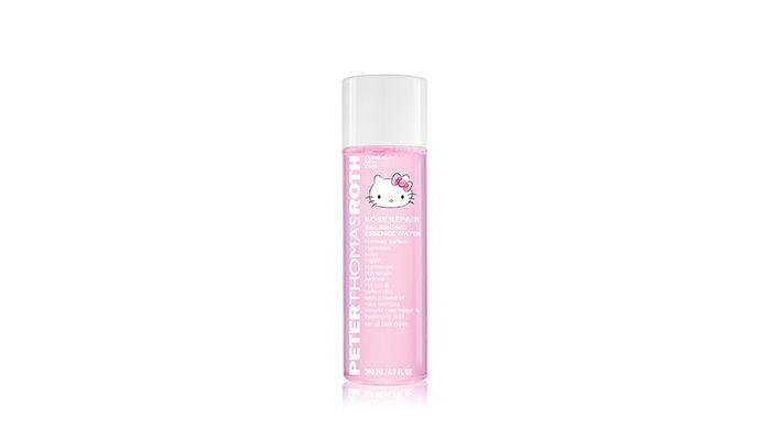 彼得羅夫 玫瑰舒潤活化精華水Hello Kitty限量版 200ml / NT$1,600