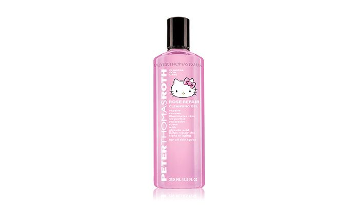 彼得羅夫 玫瑰舒潤活化潔面凝膠Hello Kitty限量版 250ml// NT$1,600