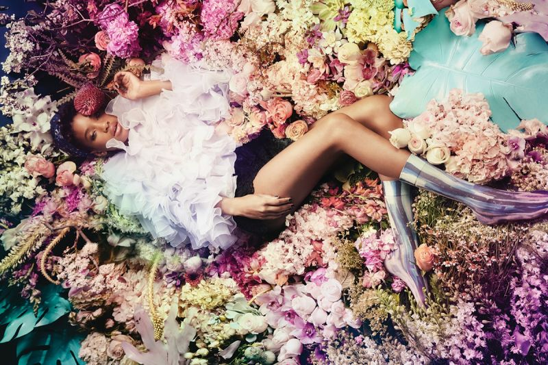 STANCE與Will Smith(威爾.史密斯)小女兒Willow Smith合作聯名女襪War Paint