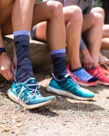 美國女子馬拉松冠軍Lauren Fleshman聯名慢跑襪系列