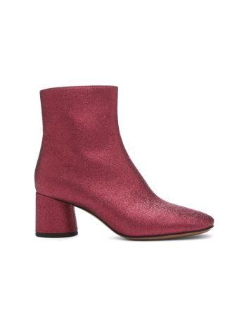 寬口粗跟短靴,Marc Jacobs。