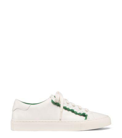 荷葉邊裝飾平底鞋,Tory Burch,NT11,900。