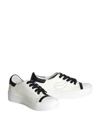 趣味圖樣雙色平底鞋,Alice and Olivia,NT8,900。