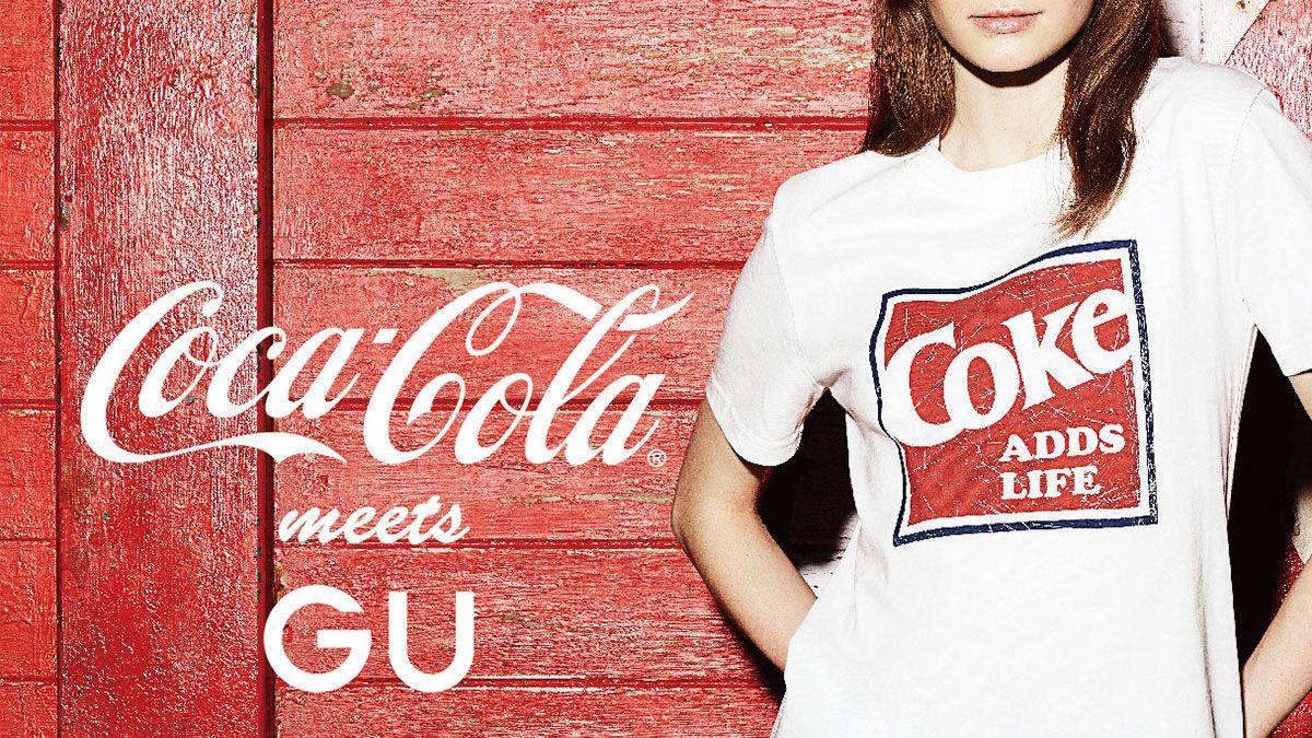 全系列$400有找!GU可口可樂聯名系列打造美式復古風