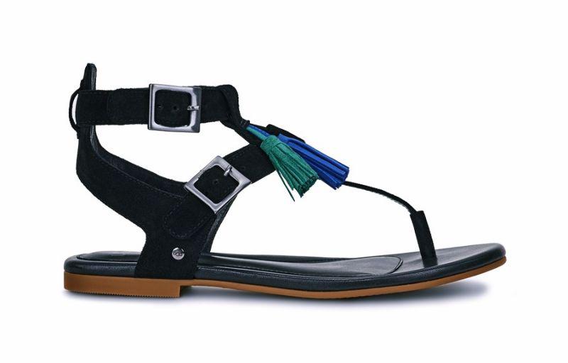 Lecia 平底涼鞋-黑色 NT.6,500
