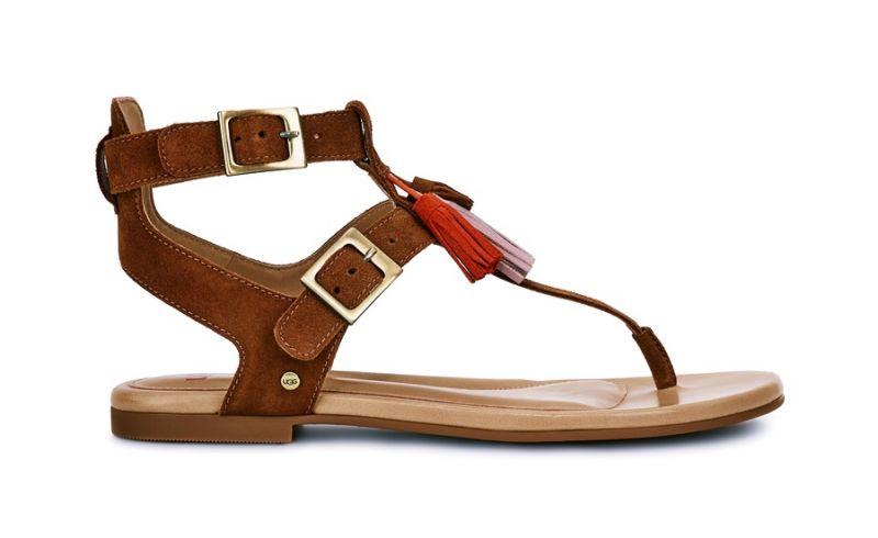 Lecia 平底涼鞋-栗子色 NT.6,500
