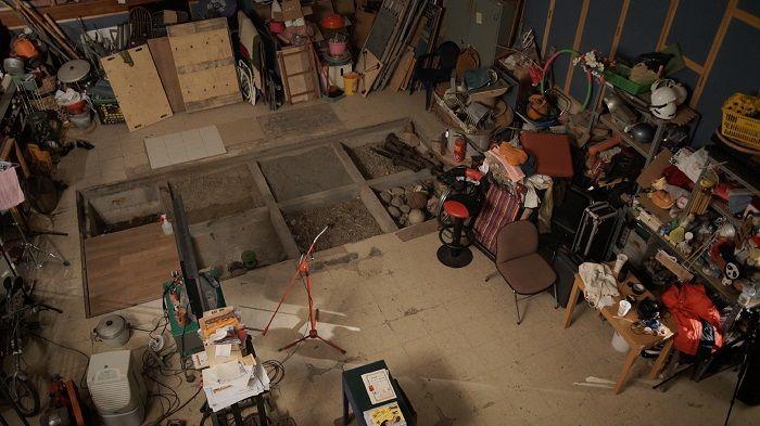 胡師傅在中影的工作室
