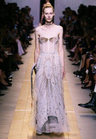 Le Soleil dress, RTW Spring Summer 2017 © Dior