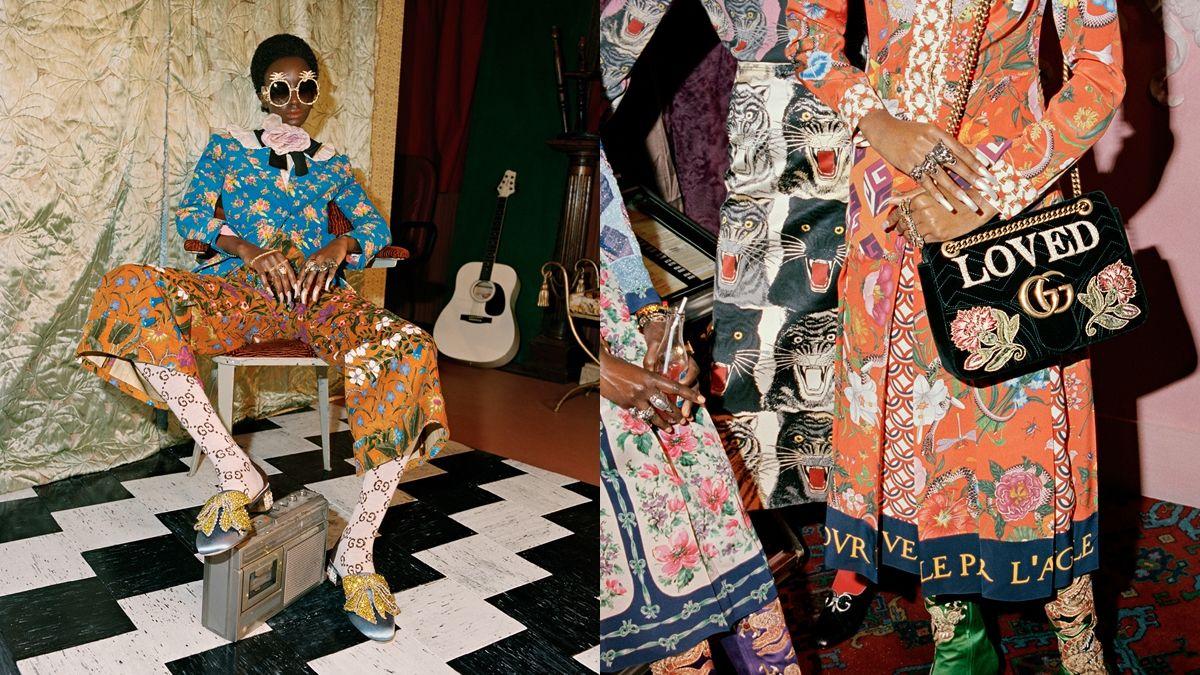 重現60年代的搖滾地下文化!Gucci 2017早秋系列形象詮釋自由奔放