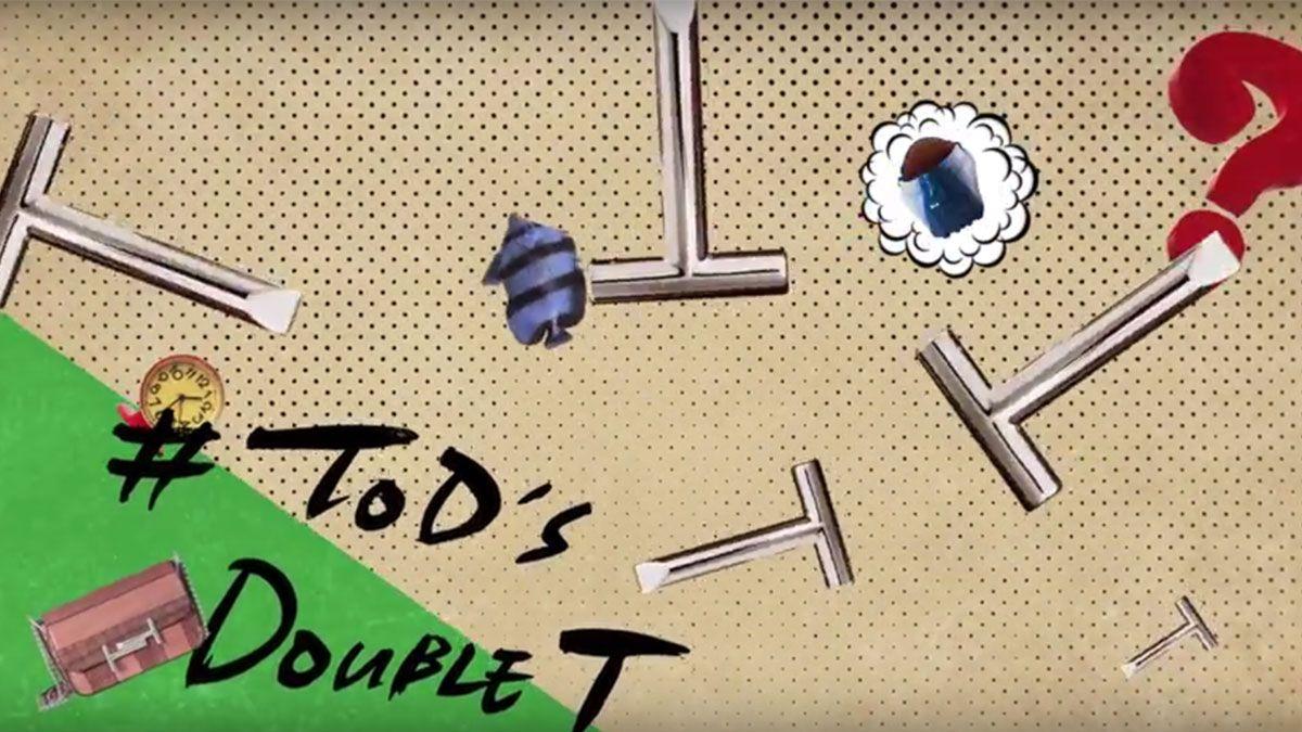 品牌史上第一次!TOD'S最新Double T俏皮影片由台灣團隊打造