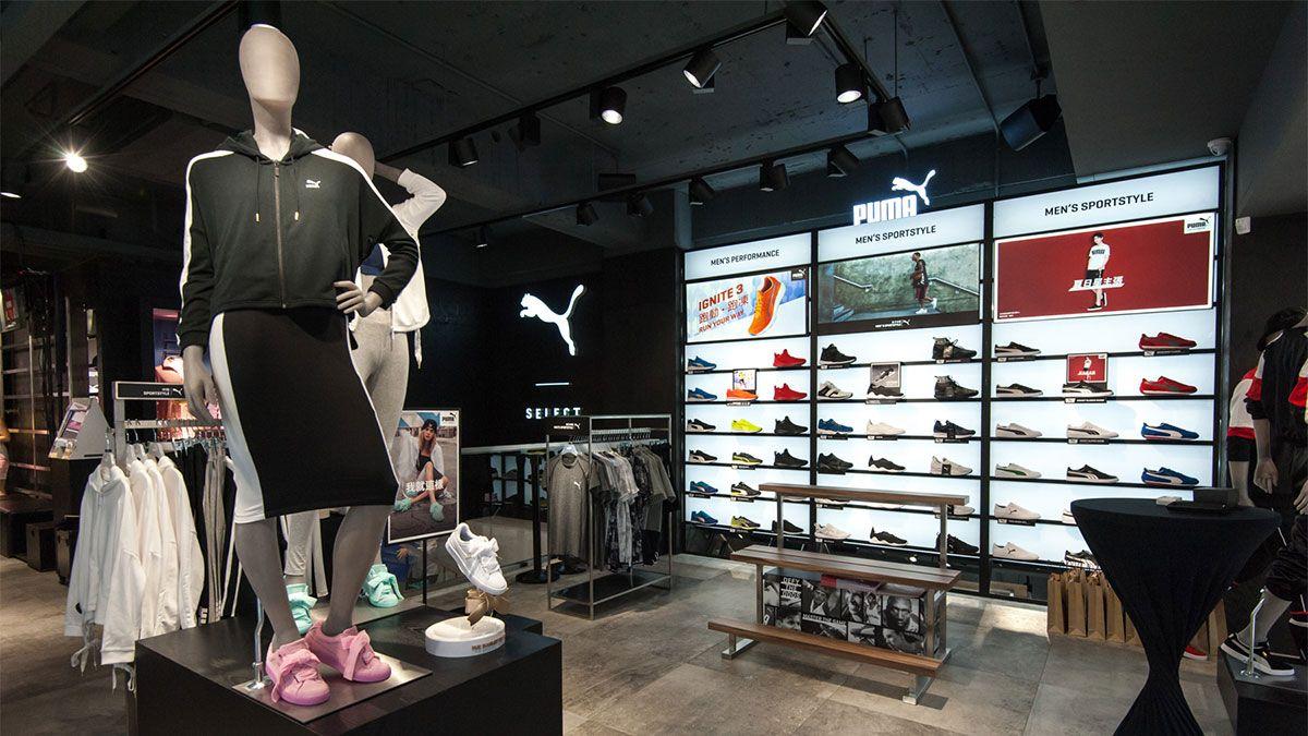 滿滿的Rihanna系列、蝴蝶結球鞋…全新開幕的PUMA忠孝旗艦店直擊!