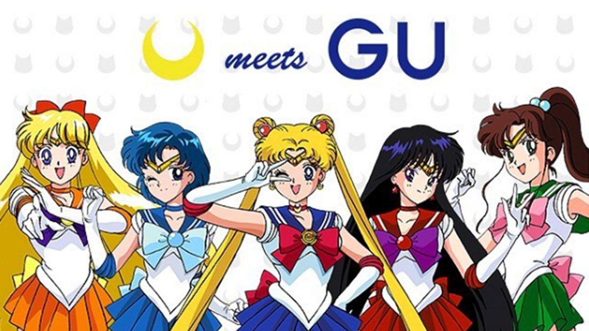 日本限定的夢幻聯名!GU推出美少女戰士系列服飾