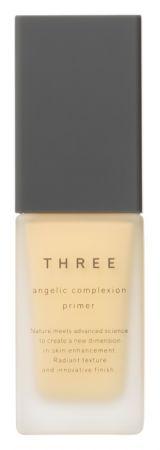 THREE 天使煥採修飾乳霜,30g,NT$ 1,500(嫩黃玫瑰)