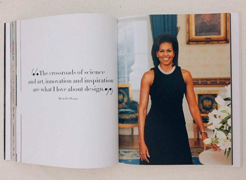 右:美國前第一夫人蜜雪兒歐巴馬