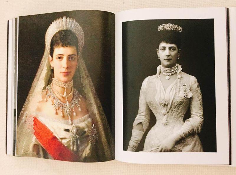 左:丹麥皇后Maria Feodorovna;左:英國威爾斯公主Alexandra
