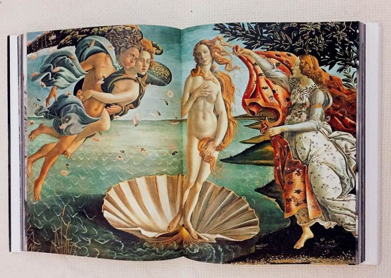波提伽利名作《維納斯的誕生》