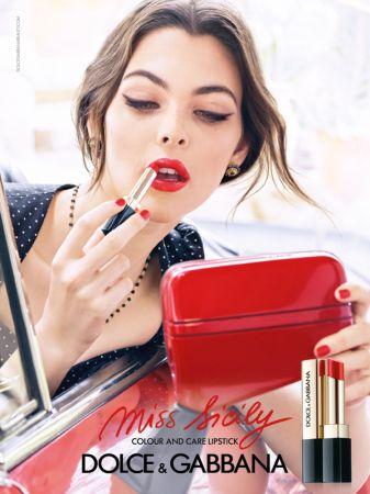 Dolce&Gabbana Miss Sicily唇膏系列主視覺