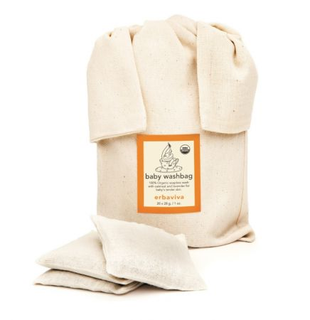 erbaviva USDA有機新生兒燕麥沐浴袋,NT$1,800