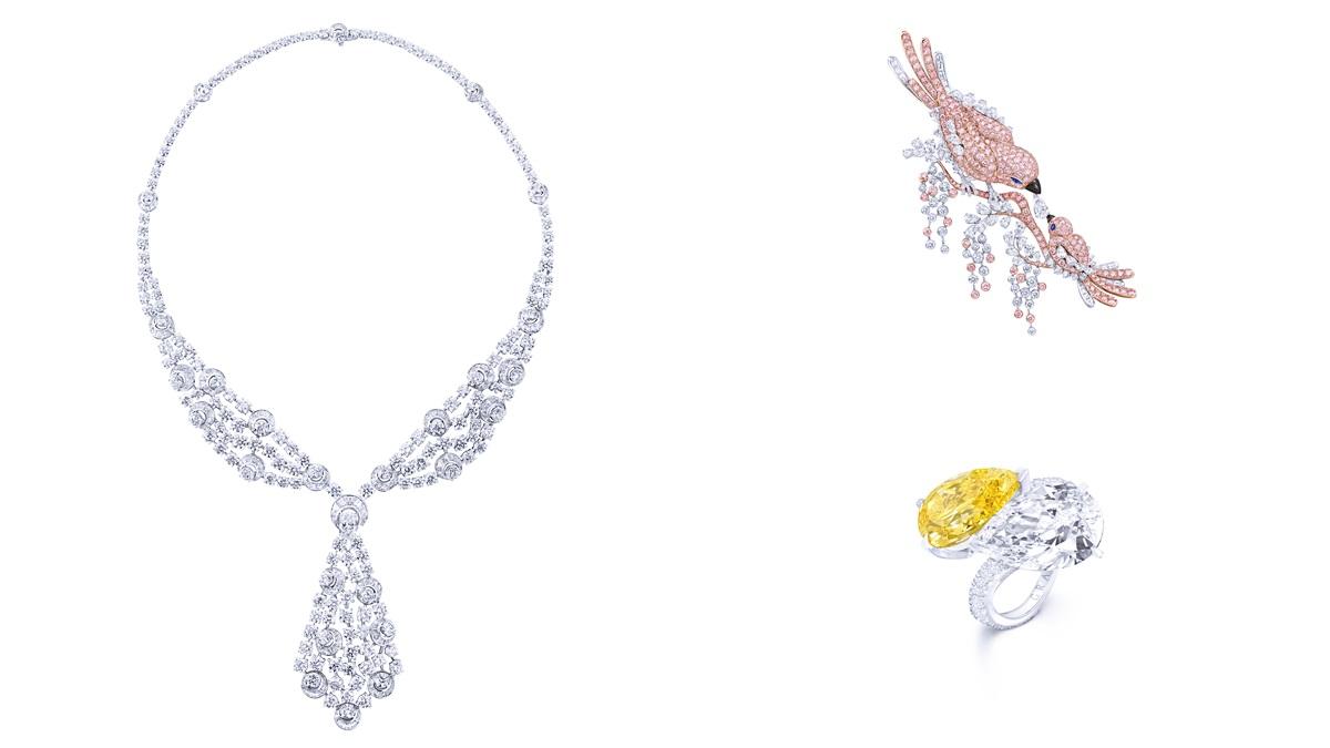 倫敦工作坊空運抵台展出!格拉夫高級珠寶展攜頂級白鑽、粉紅鑽