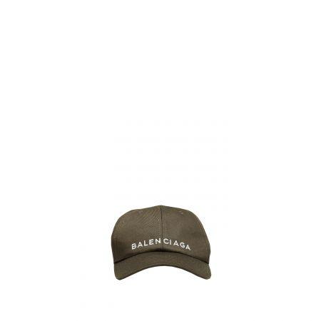 茶色鴨舌帽,Balenciaga。