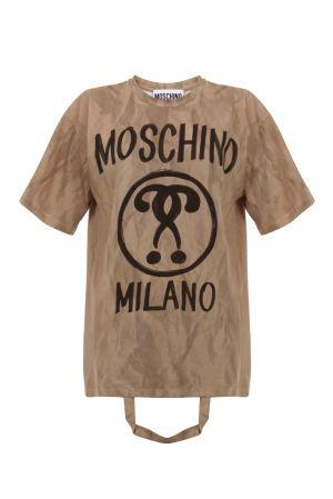 紙袋造型上衣,Moschino,NT 12,800。